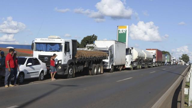 No Planalto, caminhoneiros querem diesel com preço de julho de 2017