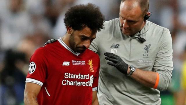 Salah passa por novo exame e fará recuperação na Espanha