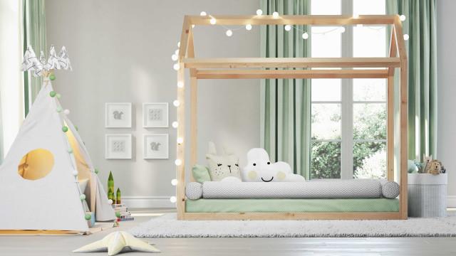 Cama casinha é perfeita para os sonhos das crianças