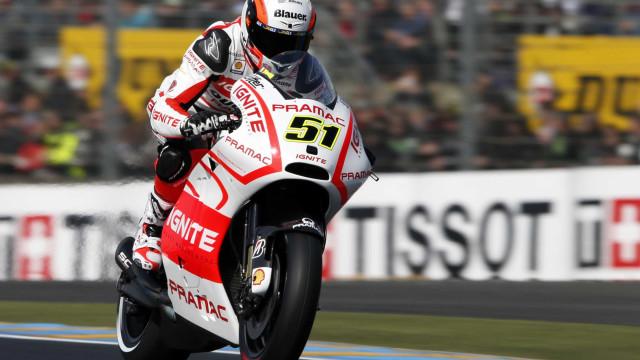 Italiano sofre grave acidente em treino da MotoGP