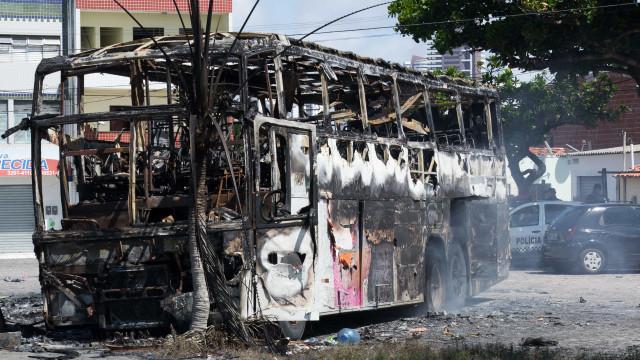 Natal registra fim de semana de violência e ataque a ônibus