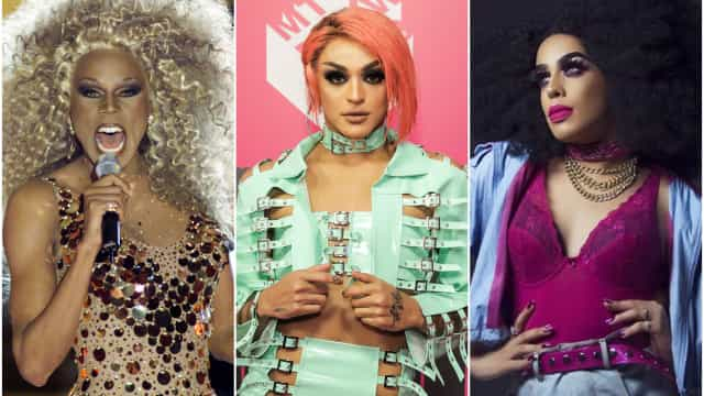 LGBTQ: as drag queens que brilham no mundo da música
