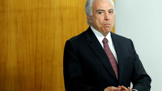 'Não há risco de crise cambial no Brasil', diz Temer