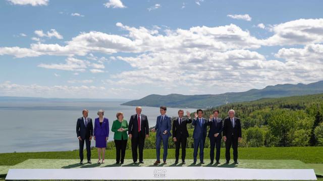 G7 começa com aliança EUA-Itália em defesa da Rússia