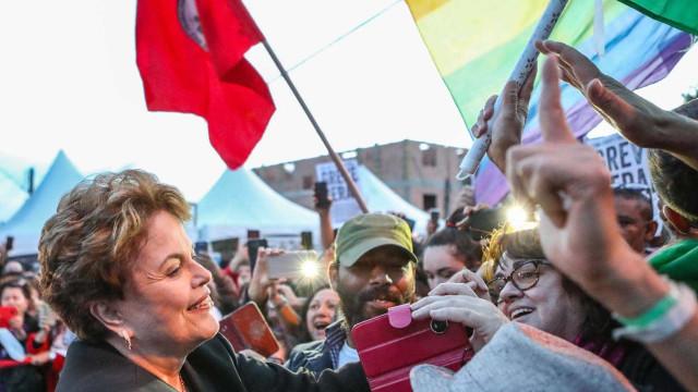Em ato de Lula em Minas, Dilma é protagonista