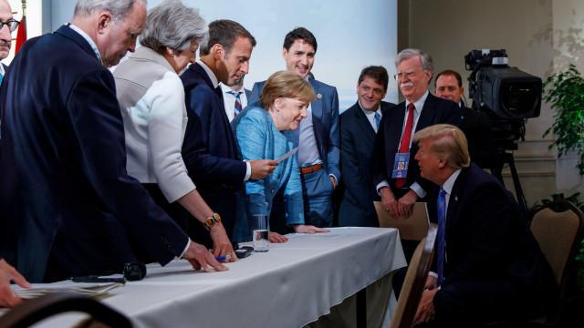 Trump retira apoio de declaração do G7 após fim do encontro