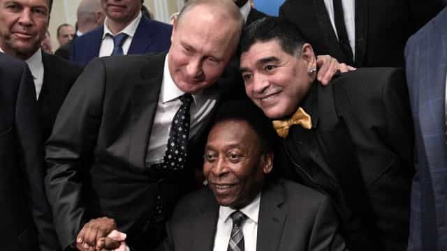 Pelé ainda é dúvida na Copa do Mundo da Rússia