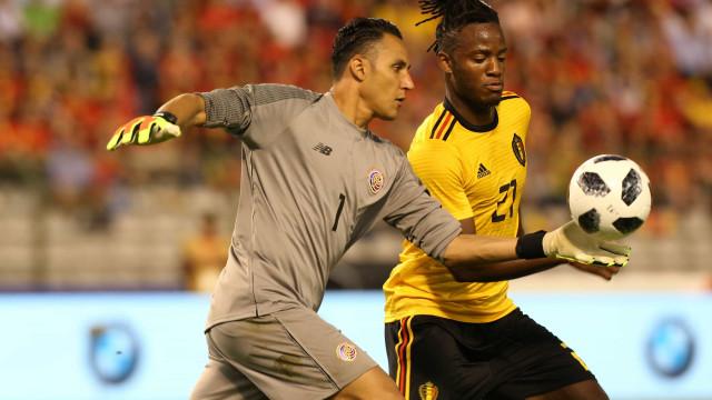 Bélgica sofre susto, mas goleia adversária do Brasil em último teste