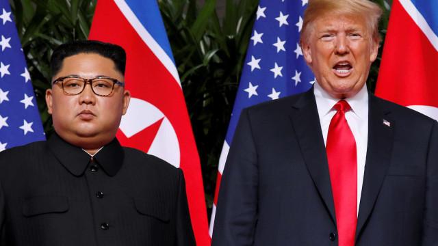 Donald Trump diz que Coreia do Norte não é mais ameaça nuclear