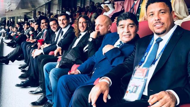 Que time: Puyol posta foto 'mais pesada da história'