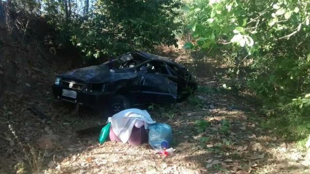 Menino é arremessado de carro e sobrevive após ficar preso em árvore