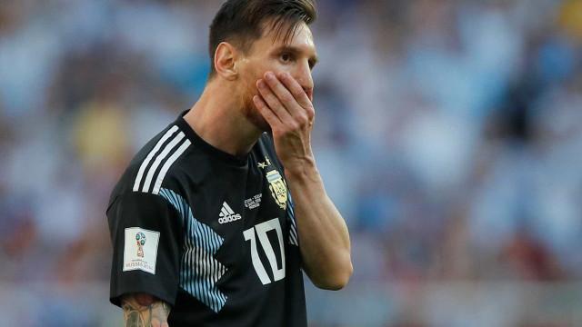 Balde de água fria! Messi decepciona e Argentina empata com a Islândia