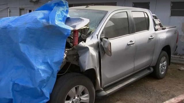 Menina, mãe grávida e bebê morrem após carro bater em caminhão em SP
