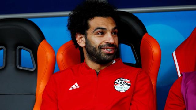 Salah jogará contra a Rússia, afirma federação egípcia