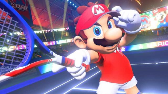 Eletrizante, Mario Tennis Aces chega ao Switch nesta semana