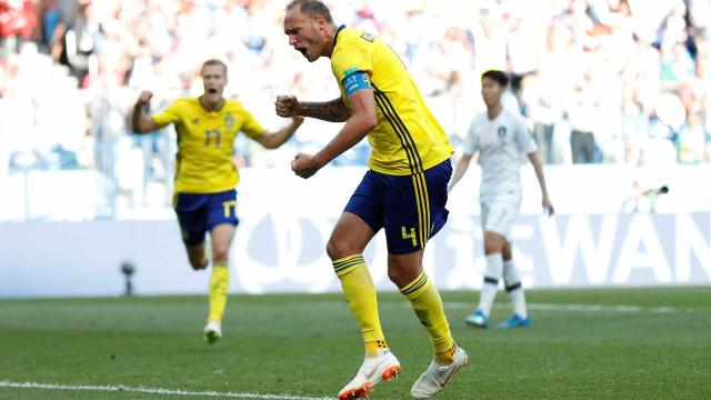 Com ajuda do VAR, Suécia vence a Coreia do Sul pelo Grupo F