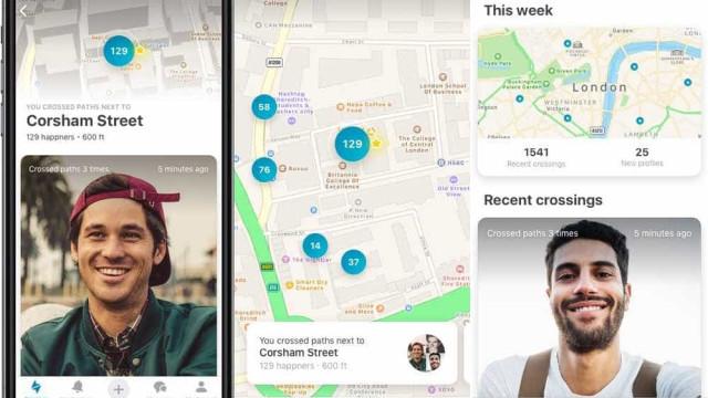 Happn passará a mostrar mapas interativos para buscar o 'crush'