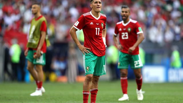 Marrocos, a primeira seleção eliminada da Copa do Mundo da Rússia