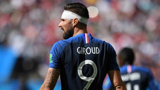 França deve ter Giroud e Matuidi entre titulares contra o Peru