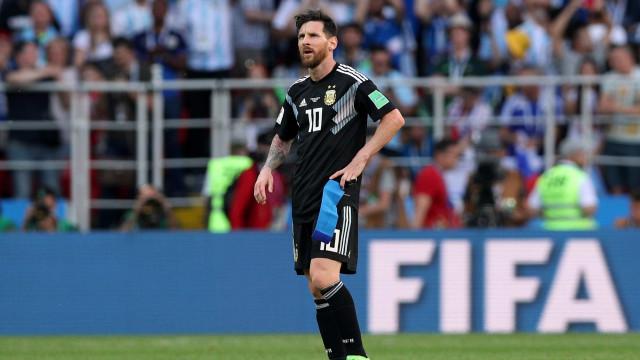 Após empate com Islândia, Argentina tem jogo decisivo contra Croácia