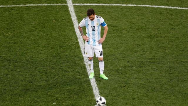 Croácia humilha Argentina em mais um dia apagado de Messi