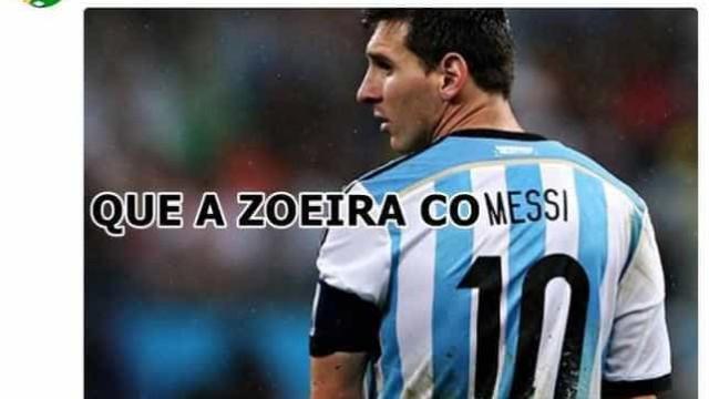 Argentina perde pra Croácia e vira piada na web; confira