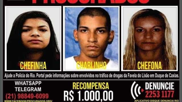 Polícia procura por chefes do tráfico de Duque de Caxias, na Baixada