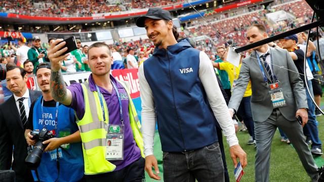 Ibra mostra confiança na Suécia diante de campeões mundiais
