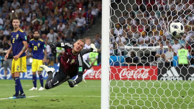 Alemanha vence Suécia com gol no último segundo em Sochi