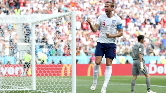 Kane iguala em dois jogos o número de gols de Messi e Neymar em copas