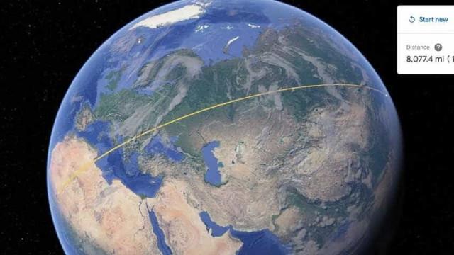 Google Earth ganha ferramenta para medir distâncias e áreas