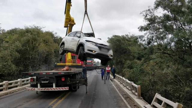 Avó, mãe e filha morrem em acidente de trânsito no RS