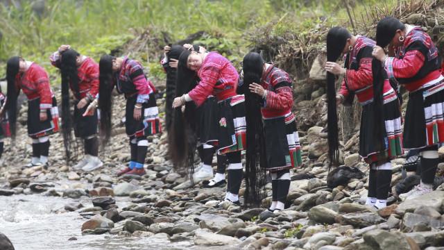 Conheça a vila chinesa onde as mulheres têm cabelos de mais de 2 metros