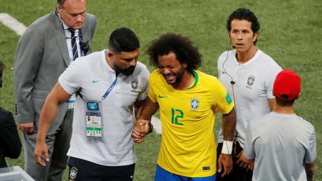 Fora da seleção desde a Copa, Marcelo perde metade de jogos na era Tite