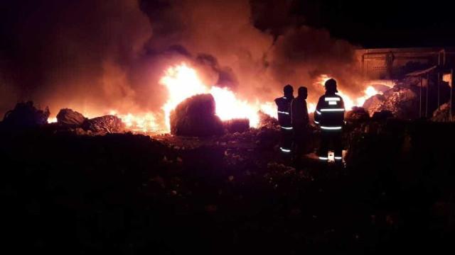 Rojão solto durante jogo do Brasil pode ser causa de incêndio na BA