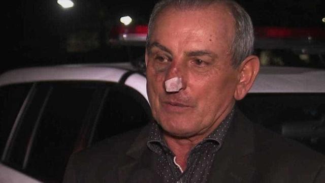 Prefeito é agredido após ter casa invadida por ladrões chilenos em SP