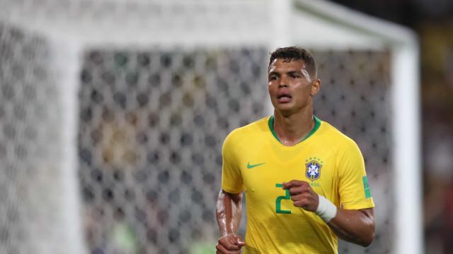 Thiago Silva será capitão da seleção brasileira contra o México