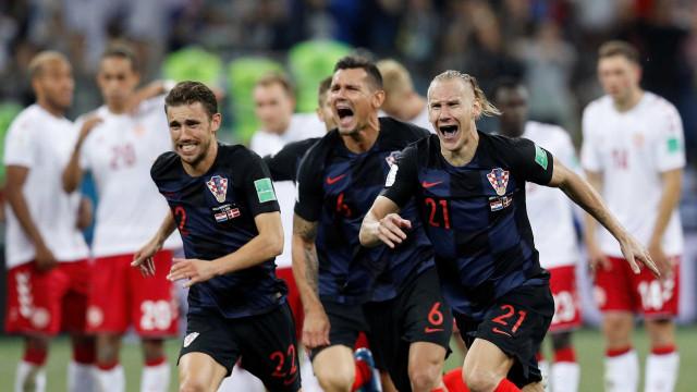 Croácia vence a Dinamarca nos pênaltis e vai às quartas da Copa