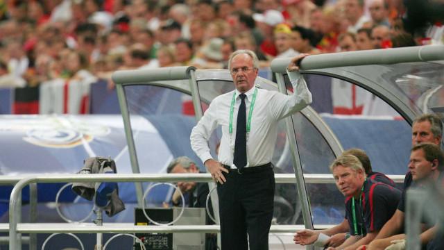 Ex-técnico da Inglaterra diz que Suécia é mais difícil que Brasil