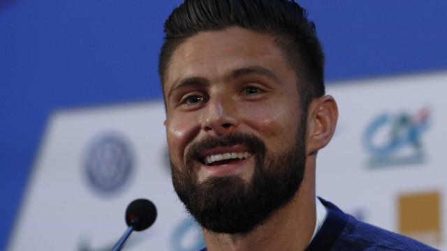 Para francês Giroud, semifinal de Copa sem sul-americanos é 'revolução'