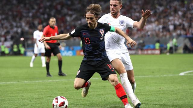 Croácia vira contra a Inglaterra na prorrogação e fica perto da final