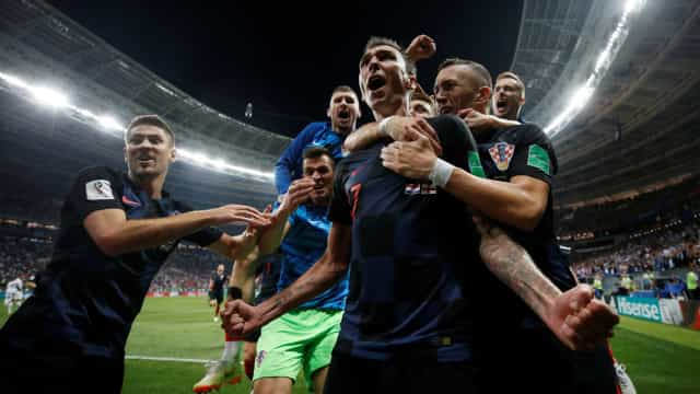 Croácia vence a Inglaterra e vai enfrentar a França na final da Copa
