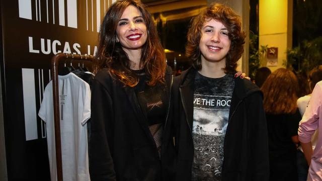 Lu Gimenez e filho viram alvos de brasileiros após queda da Inglaterra