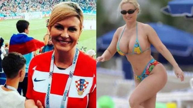Qual a verdadeira história das fotos da presidente da Croácia?