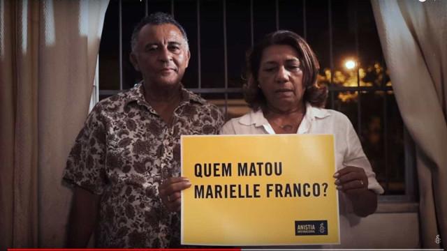 Família de Marielle cobra respostas sobre crime em vídeo da Anistia