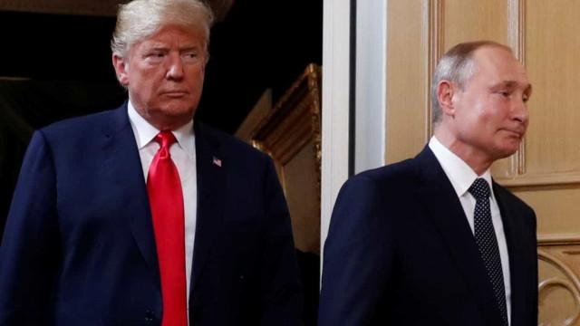 Trump diz que relações com a Rússia nunca estiveram piores