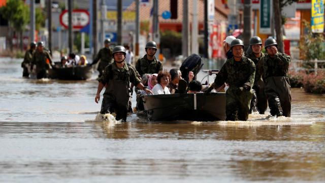 Catástrofe meteorológica deixa 224 mortos e 17 desaparecidos no Japão