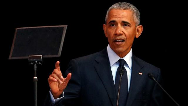 Em recado a Trump, Obama condena 'política do medo'