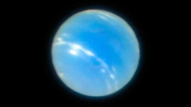 Observatório consegue imagem nítida de Netuno e resultado impressiona