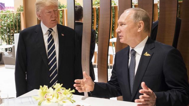 Trump quer convidar Putin para visitar Washington